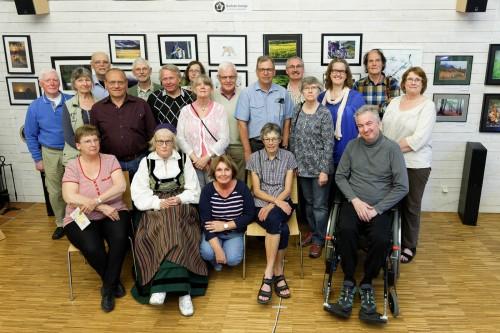 Gruppbild från Vernissagen    Foto Kåre Sjöholm