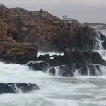 Kullens klippor med Mölle i bakgrunden. Foto: Tomas Hansen
